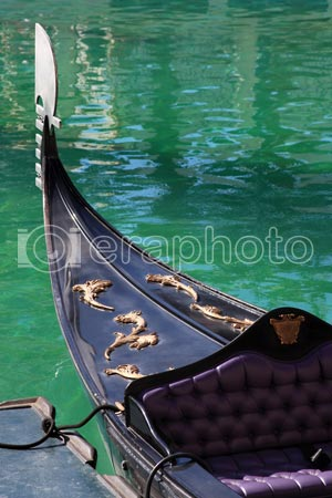 #2000012 - Gondola on green water