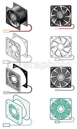 #2000033 - Computer case fan