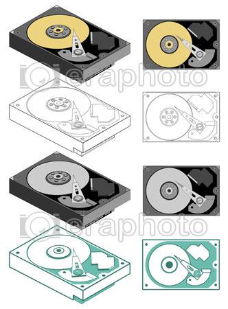 #2000066 - Computer hard drive