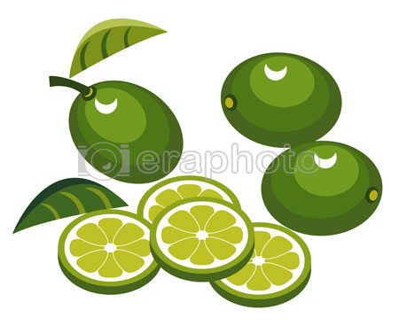 #2000078 - Limes with slices