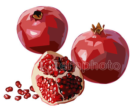 #2000105 - Pomegranates with seeds