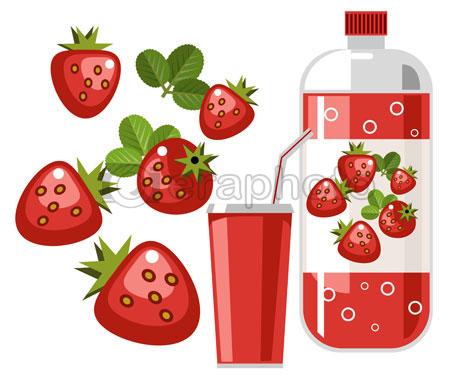 #2000122 - Strawberry flavored soda