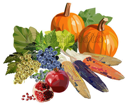 #2000157 - Fruits and vegetables for Thanksgiving