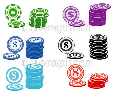 #2000160 - Casino chips