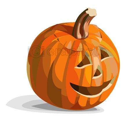#2000162 - Smiling pumpkin Jack O Lantern