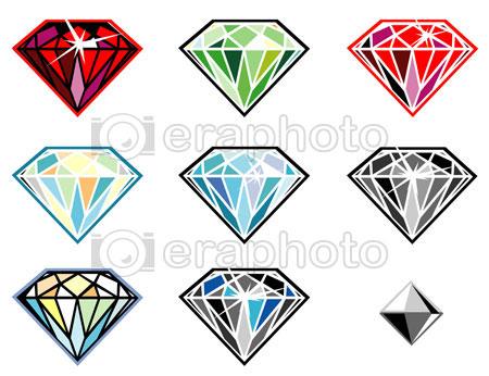 #2000164 - Precious stones with sparkle