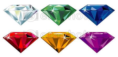 #2000168 - Precious stones with sparkle
