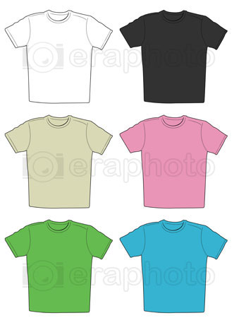#2000279 - Illustration of t-shirts in different colors