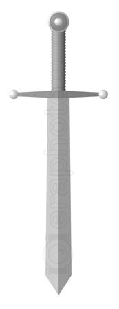 #2000300 - Illustration of simple sword