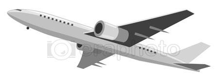 #2000306 - Illustration of airplane