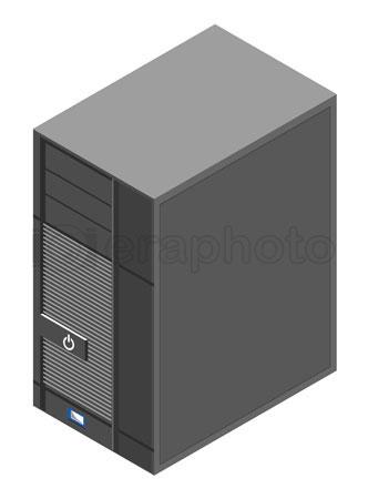 #2000322 - Computer server box