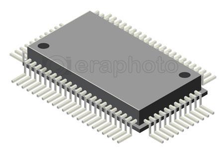#2000329 - Computer microchip