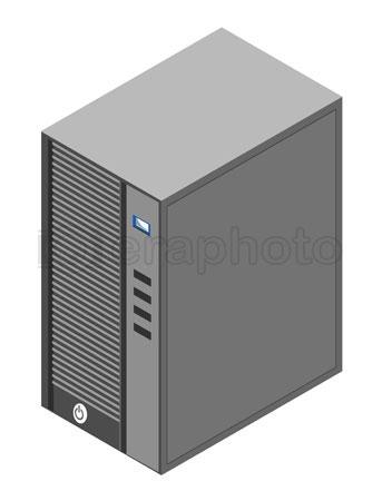 #2000333 - Computer server box