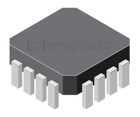 #2000344 - Computer microchip