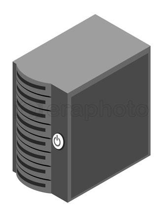#2000347 - Computer server box