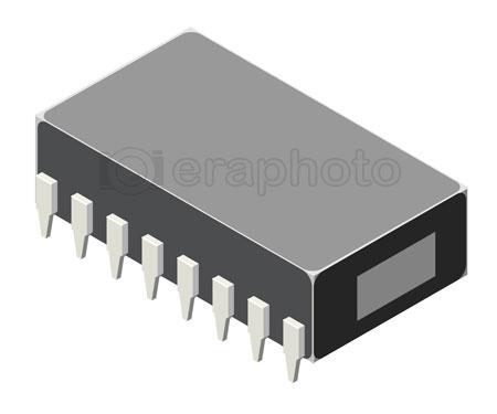 #2000368 - Computer microchip