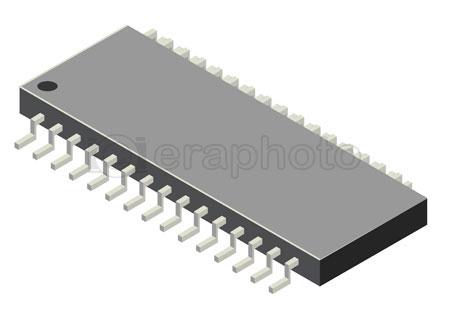 #2000369 - Computer microchip