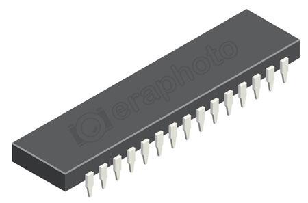 #2000370 - Computer microchip