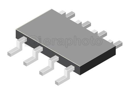 #2000371 - Computer microchip