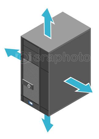 #2000378 - Computer server box