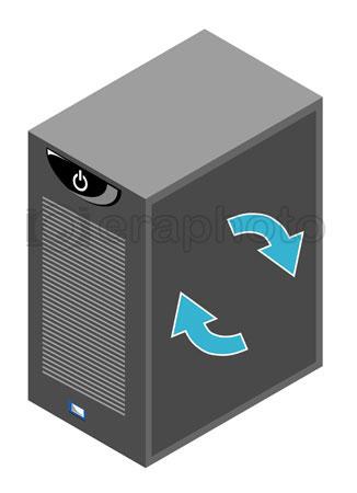 #2000381 - Computer server box