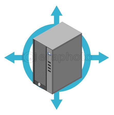 #2000382 - Computer server box