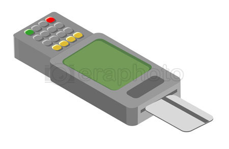 #2000386 - Credit card reader device