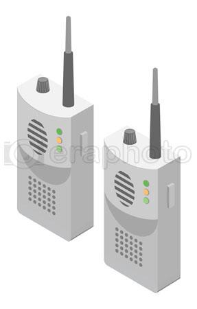 #2000392 - Set of walkie talkies