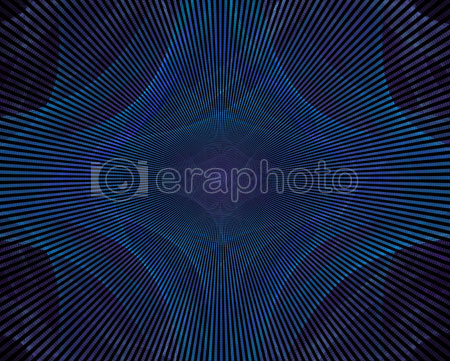 #2000397 - Abstract blue rays on black background