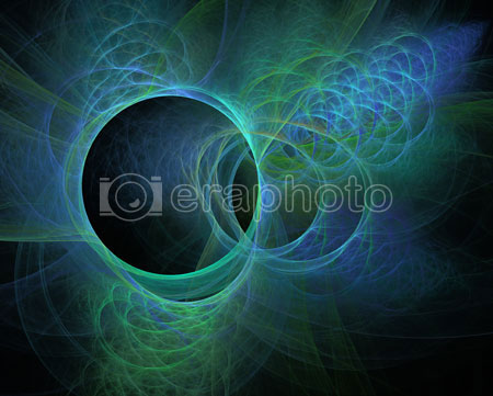 #2000401 - Abstract blue and green circles background