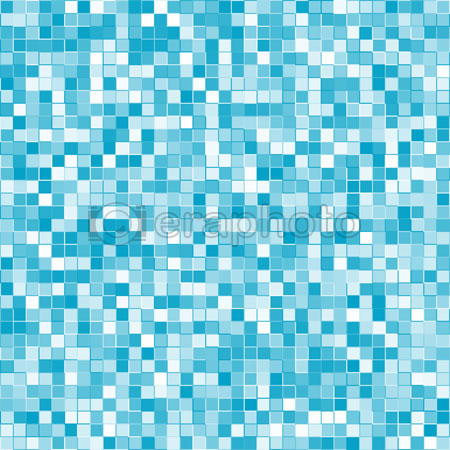 #2000402 - Abstract geometric vector blue squares background