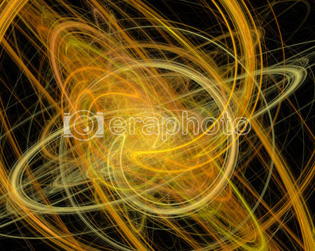 #2000417 - Abstract background made of orange swirls