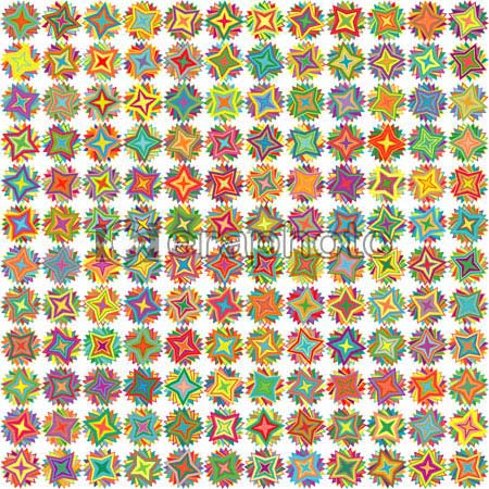 #2000425 - Seamless multicolor bright stars background