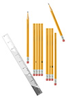 #2000144 - Pencils and ruler