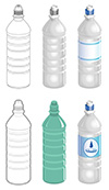 #2000271 - Water bottle in different styles