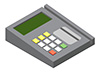 #2000324 - Credit card reader device
